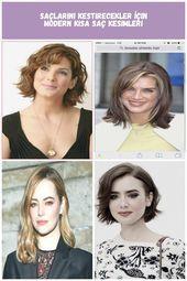 Frisuren Mittellang Langgestuftes, Fransiges, Rundes Gesicht, #fransig #Frisuren #gesicht …   – frisuren Kurzhaar