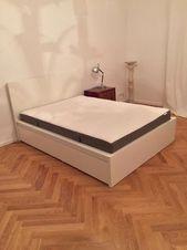 Bett Mit Schubladen 140 200 Fresh Ikea Malm Bett 140 200 Inkl Lattenrost Matratze Und Zwei In 2020 Ikea Malm Malm Ikea