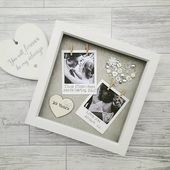Anniversary Frame, Engagement Gift, Wedding Present, Gift For Anniversary, Gift For Engagement, Personalised Frame, Gifts For Couples,