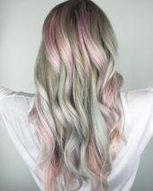 Long blonde hair – hairstyles 2018