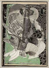 Kirsten Francis Amazing Color Reduction Woodcut Printmaker So Many