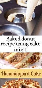 Baked donut recipe using cake mix 1