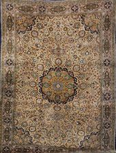 Kurk Qum 'Part-Silk' Carpet, on