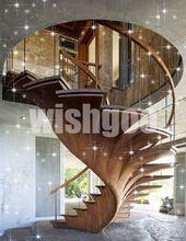 nachhaltiges design holz wandeltreppe                                           …
