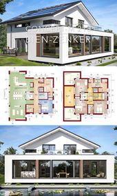 Modern Villa House Plans & Interior Architecture Design – Concept-M 210
