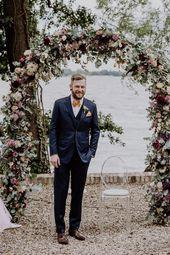 Sommerlich-schicke Hochzeit auf Gut Schloss Golm – Groom Style