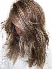 20 refreshing medium-long hair colors in 2019