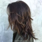 Charismatic colour concepts of chocolate brown hair for brunettes