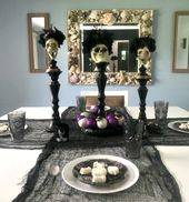 Day Of The Dead Inspired Halloween Tablescape Ideas