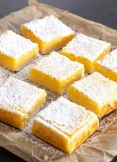 Gluten Free Lemon Bars | Great gluten free recipes for every occasion.
