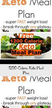 1200 Calorie Keto Meal Plan – Pinokyo