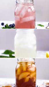 three Detox Iced Teas for the Summer season