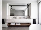 Badezimmer-Regal-Entwürfe und Ideen, die Offenheit und stilvolles Dekor unterstützen – Dekoration Ideen