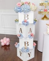 50 Cute Baby Shower Themes and Decorating Ideas for Girls  #Baby #babyshower #C …