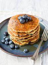 Vegan Oatmeal Pancakes   – Breakfast!