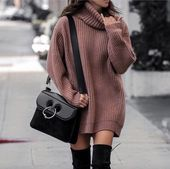 17+ Overknee-Stiefel-Outfit lässt Sie sich inspirieren: Styling Black Overknee
