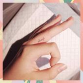 Small Tattoos With Meaning Symbols Inspiration Life Inspirational Finger Tattoo … – Small Tattoos