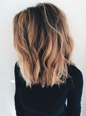 Sommer schulterlange Haarschnitte
