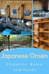 Japanese Onsen: Onsen Etiquette, Rules, and Guide