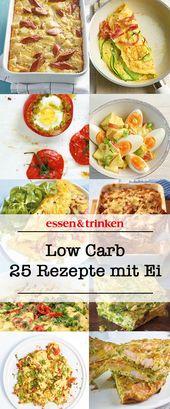 Low Carb Rezepte mit Ei – Low Carb