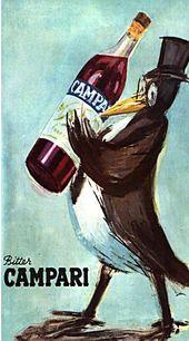 campari vintage italian posters