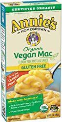 Annie S Organic Vegan Gluten Free Elbows Creamy Sauce Macaroni Cheese 12 Boxes 6oz Pack Of 12 Packaging Annies Homegrown Mac And Cheese Organic Vegan