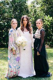 29 Brillante Hochzeitsgast-Outfit-Ideen von den Olsen-Zwillingen   – A Faire COUDRE