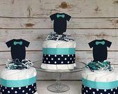 Kleine Prinzessin Baby Windel Kuchen ~ Mädchen Baby Windel Kuchen, Pink Baby Shower, Prinzessin Baby Shower, Pink und Silber Windel Kuchen, erröten Pink   – Windelgeschenke