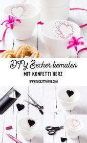 Valentinstag Geschenke: Himbeer Wodka, Herz Churros und DIY Becher mit Herz – Nicest Things