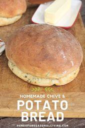 Schnittlauch & Kartoffelbrot   – Baking Recipes