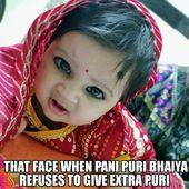 #panipuri #chubby #lady #child #child #memes