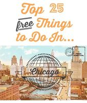 Top 25 FREE Things to do in Chicago