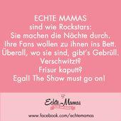 Mama Sprüche für echte Mütter. Lustige Sprüche und immer etwas zum Lachen. www.ec …   – Lustig