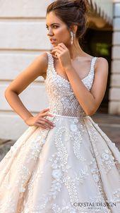 Crystal Design 2017 bröllopsklänningar – Haute Couture brudkollektion   Bröllopsinspirasi
