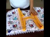 Photo of Ay-Tulle Bebe Textile. Bottom Opening Set. Surprise Pillow 3 – YouTube