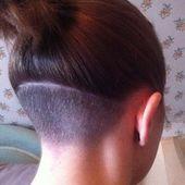 Unter dem Haarschnitt rasiert – Google-Suche