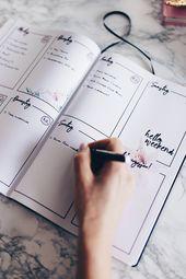 Was ist ein Bullet Journal? + Tipps und Ideen um ein BuJo zu gestalten