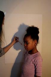 Unglaubliche Herstellungsart: DIY Family Silhouette Klasse in weniger qua einer Stunde