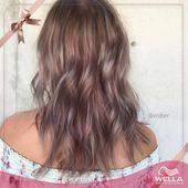 شعور رائع عندما تحصلين على لون شعر أجمل من الذي كنت تتوقعيه ريبوست لـ Vreber وهذا الشعر الوردي الرمادي البنفسجي والأشق Hair Looks Hair Styles Beauty
