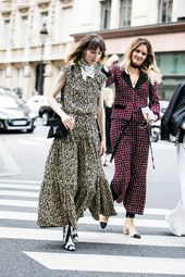 Street looks at the haute couture fashion week 2016-2017 in Paris