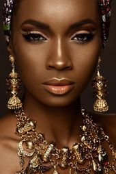 30 Black Bride Makeup Ideas | Wedding Forward