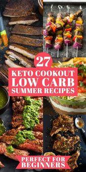 Keto Cookout Rezepte für den Sommer! Wenn Sie die Keto-Diät einhalten, werden Sie die …