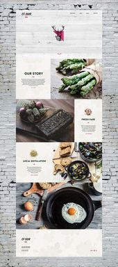Estás pensando en crear un sitio web para tu restaurante con el que obtuve …   – Diseño web inspiración