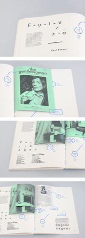 QUOI — PAS de Hugo Dias, via Behance   – layout