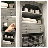 Laundry Room Reveal Or How To Pack Lots Of Function Into Your Laundry Room For Less Tiny Laundry Rooms