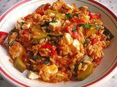 Mediterranean Zucchini Rice Pan with Feta 3  – Rezepte