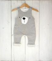 Salopette bébé garçon, combinaison, bavoirs nouveau-né bébé fille costume d'ours, vêtements animaux en peluche, nouveau-né, petit ours Baby Onesie, ours   – Nähen baby