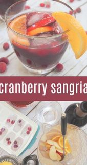Every party needs a signature drink, and this Cranberry Sangria is perfect! This…