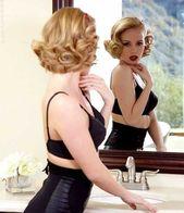 50er Jahre Frisuren für kurze Haare #Stile #Haar #Jahre #Kordelfrisur hoch, # 50er Jahre #F ...