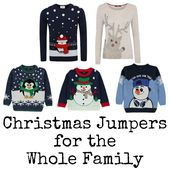 Christmas Jumpers from George at Asda for all the family – In The Playroom